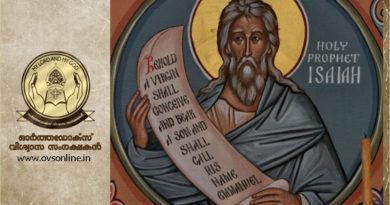 The Ecological Manifesto of Prophet Isaiah : Dr. Meledath Kurian Thomas