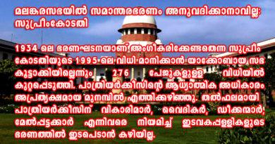 Malankara Church Supreme Court Verdict