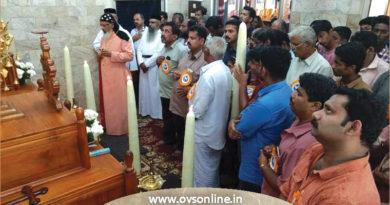Pampady Perunnal, Malankara Church News