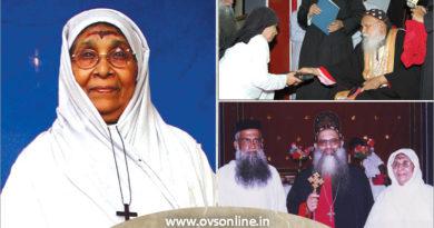 Mother Susan Kuruvilla of Indian Orthodox Church