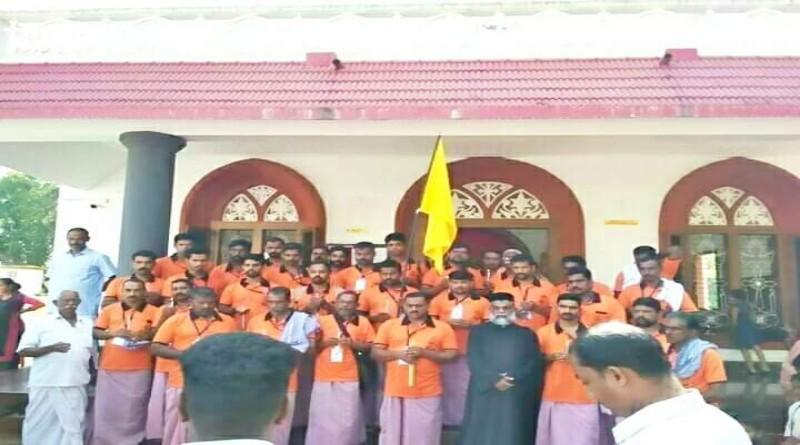 പരുമലപ്പെരുന്നാള് : മലങ്കരയിലെ ഏറ്റവും ദൈര്ഘ്യമേറിയ തീര്ത്ഥയാത്ര ആരംഭിച്ചു