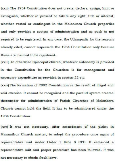 Supreme Court Order 2017 Malankara Church