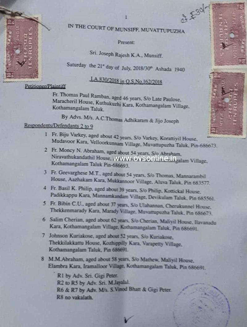 kothamangalam-church-court-order