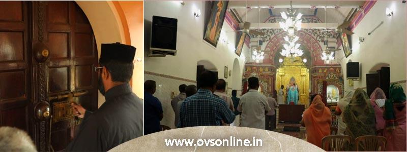 ചെറായി സെൻറ് മേരീസ് പള്ളിയിൽ ഇന്ന് (6-Aug) പ്രഭാത നമസ്കാരവും, വിശുദ്ധ കുർബാനയും നടന്നു
