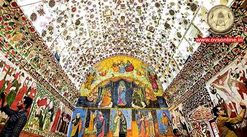 Kottayam Cheriya Palli: mural art