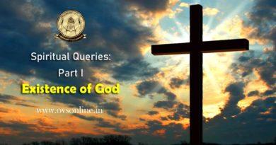 Spiritual Queries: Part I - Existence of God